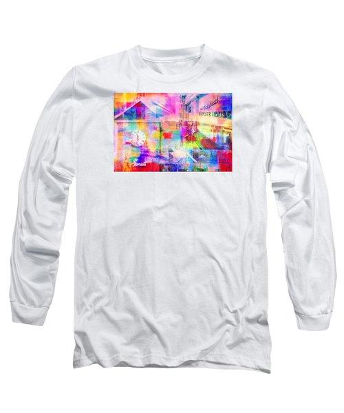 Wayzata Collage Long Sleeve T-Shirt by Susan Stone