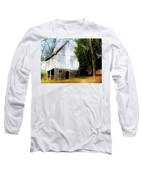 A Hidden Barn In West Chester, Pa Long Sleeve T-Shirt