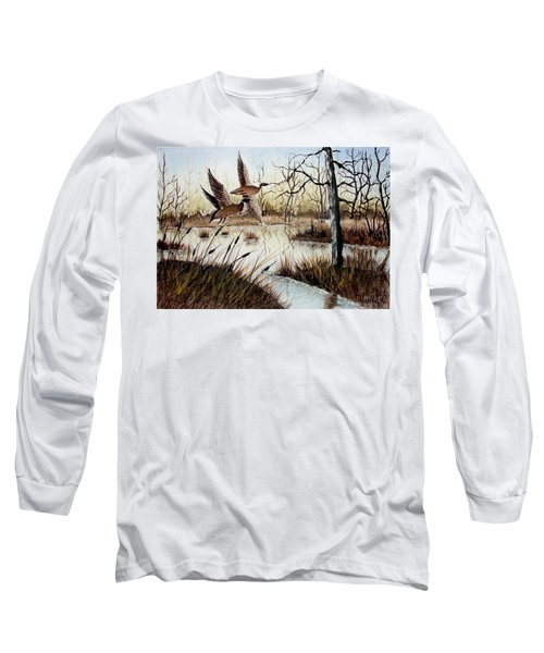 A 'jerry Yarnell' Study Long Sleeve T-Shirt