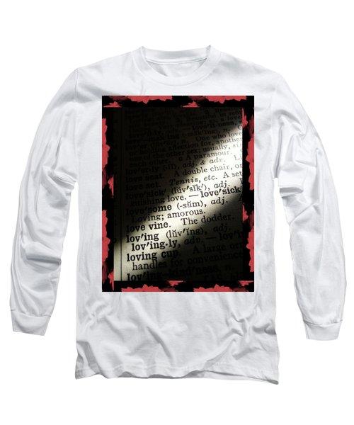 A Light On Love Long Sleeve T-Shirt