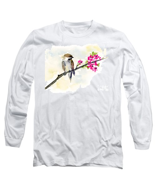 A Little Bother Long Sleeve T-Shirt by Amy Kirkpatrick