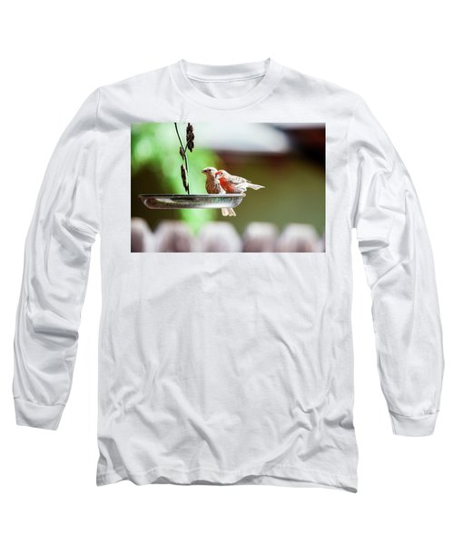 A Little Lunch Long Sleeve T-Shirt by Wade Courtney
