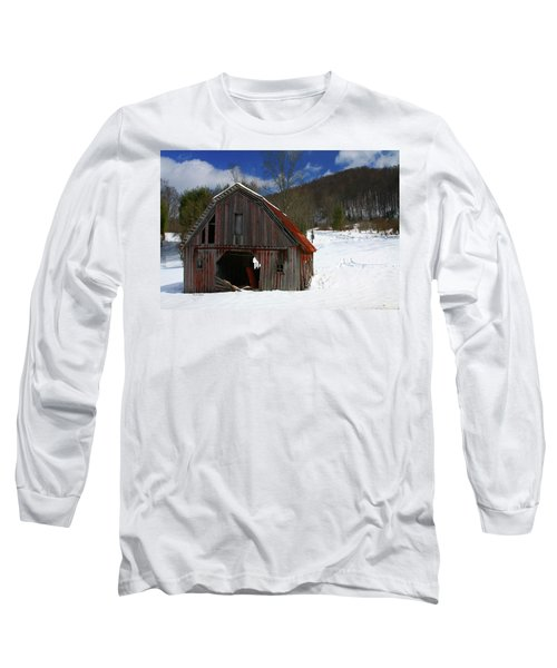 A Little Rust Long Sleeve T-Shirt by Dale R Carlson
