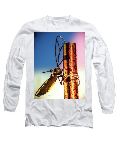 A Little Rusty Long Sleeve T-Shirt by Stefanie Silva