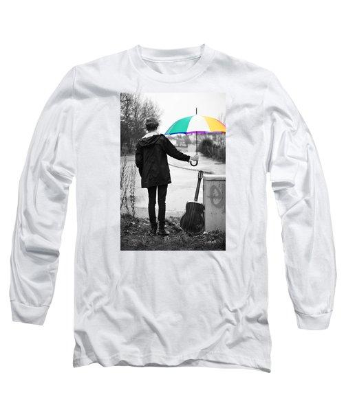 A Man's Best Friend Long Sleeve T-Shirt