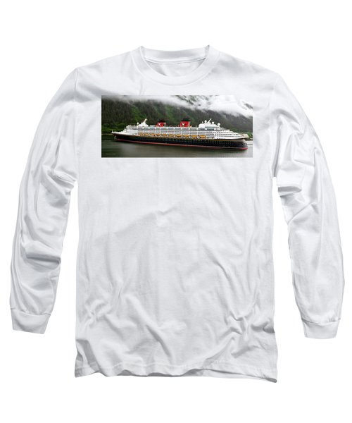 A Mickey Mouse Cruise Ship Long Sleeve T-Shirt