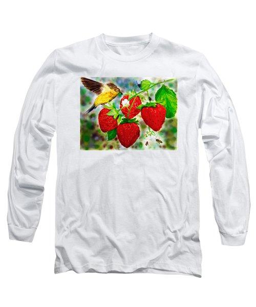 A Midsummer Daydream Long Sleeve T-Shirt by Asha Aravind