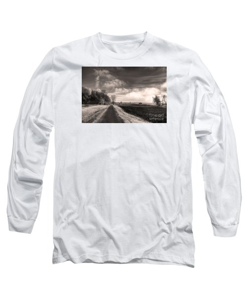 Long Sleeve T-Shirt featuring the photograph A Mist Over The Missouri Bottoms by William Fields