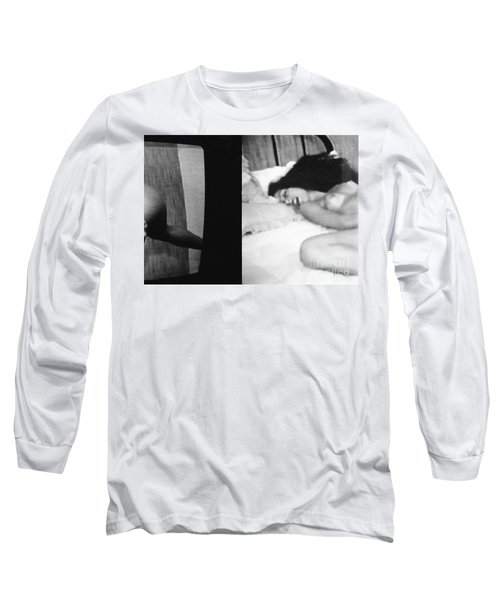 A Mystery Long Sleeve T-Shirt by Steven Macanka