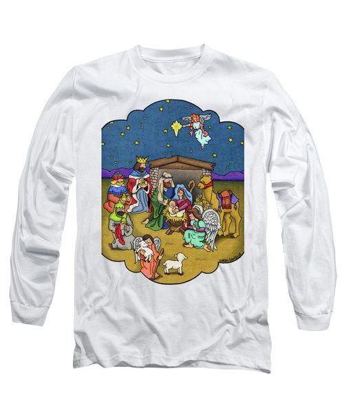 A Nativity Scene Long Sleeve T-Shirt
