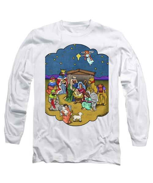 A Nativity Scene Long Sleeve T-Shirt
