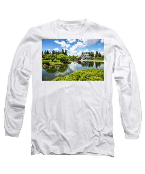 A Perfect Day In The Garden Long Sleeve T-Shirt