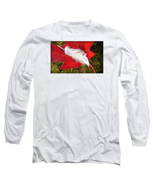 Long Sleeve T-Shirt featuring the photograph A Perfect Fall by Katie Wing Vigil