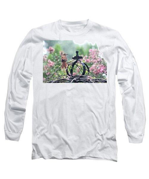 A Rainy Summer Day Long Sleeve T-Shirt