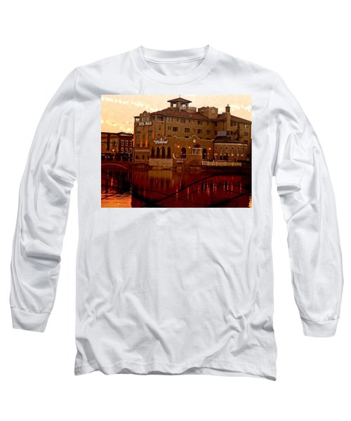 A River Of Gold Long Sleeve T-Shirt