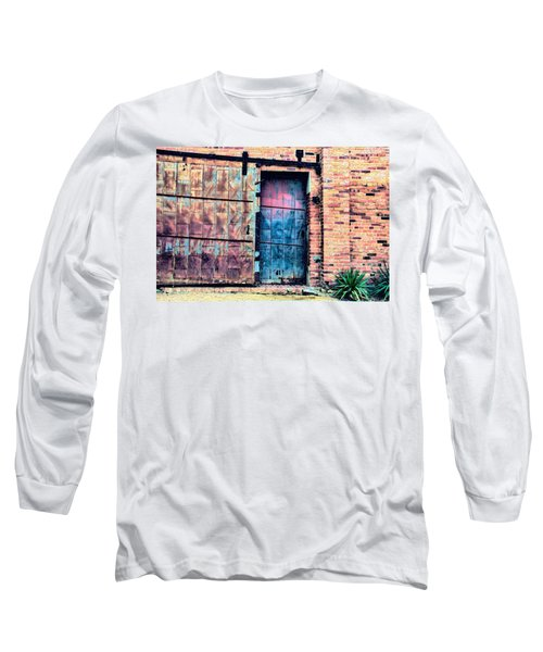 A Rusty Loading Dock Door Long Sleeve T-Shirt