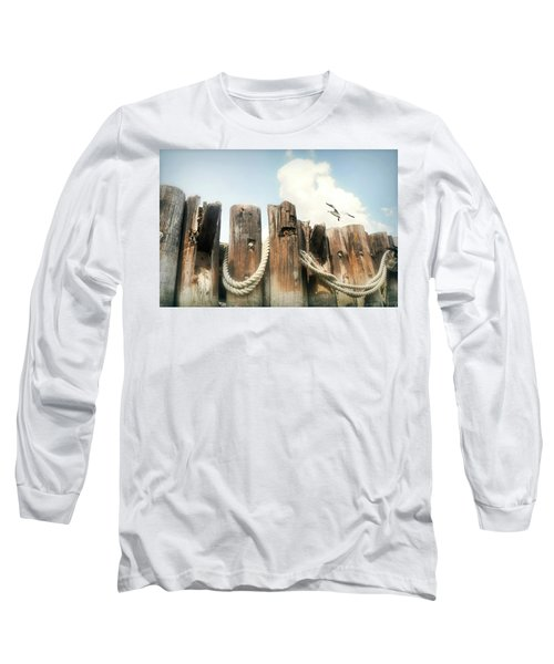 It's A Shore Thing Long Sleeve T-Shirt by Diana Angstadt