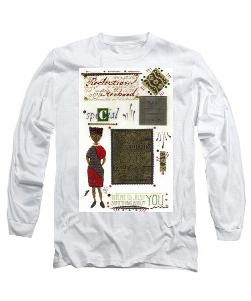 A Special Friend Long Sleeve T-Shirt by Angela L Walker
