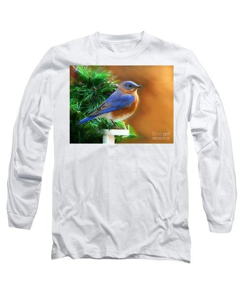 A Still Moment Long Sleeve T-Shirt by Tina LeCour
