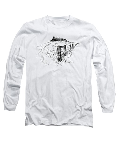 A Strong Fence And Weak Barn Long Sleeve T-Shirt