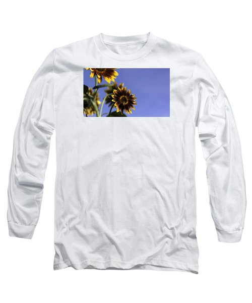 Long Sleeve T-Shirt featuring the photograph A Summer's Day by Lora Lee Chapman