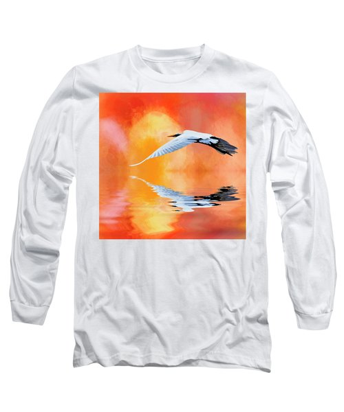 A Sunny Morning Long Sleeve T-Shirt by Cyndy Doty