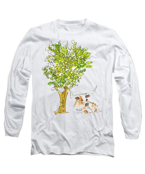 A Texas Welcome Texas Longhorn Lh005 Long Sleeve T-Shirt