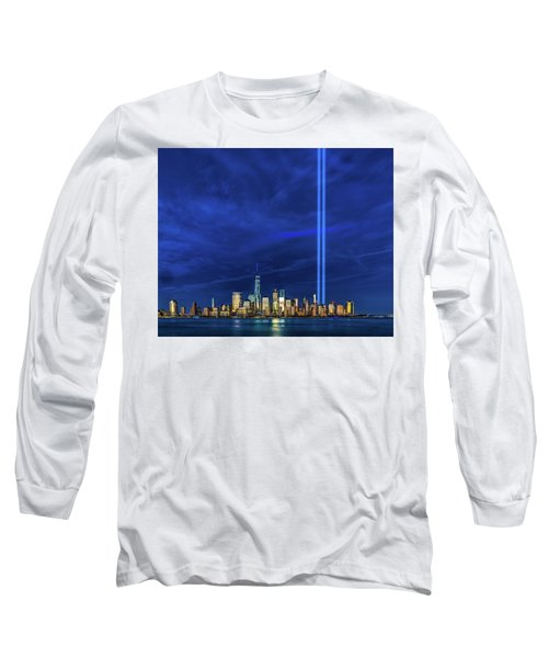 Long Sleeve T-Shirt featuring the photograph A Tribute At Dusk by Chris Lord