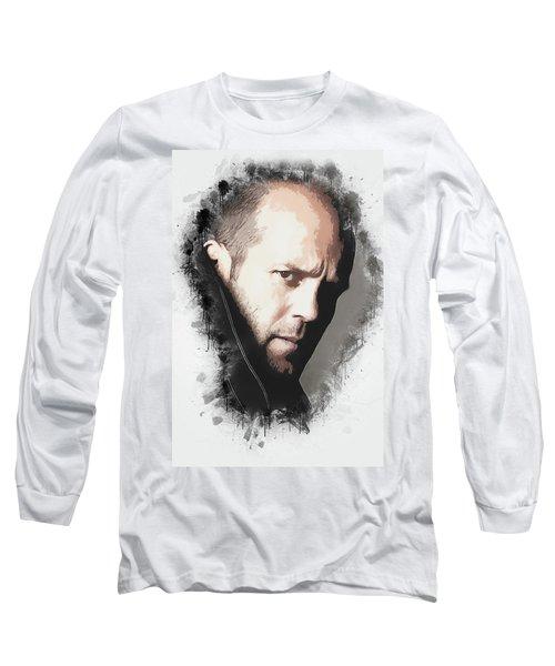 A Tribute To Jason Statham Long Sleeve T-Shirt