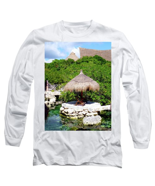 Long Sleeve T-Shirt featuring the photograph A Tropical Place To Relax by Francesca Mackenney