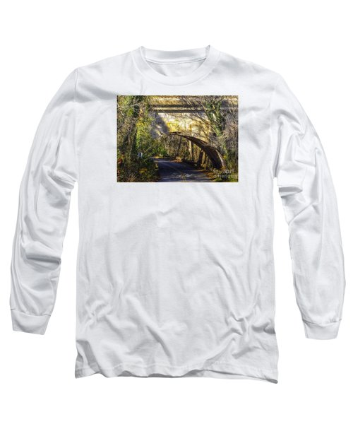 Long Sleeve T-Shirt featuring the photograph A Tunnel By The River by Melissa Messick