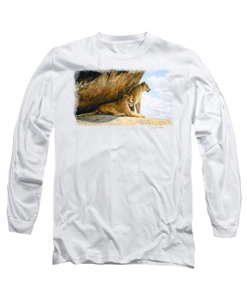 A View From The Shade Long Sleeve T-Shirt