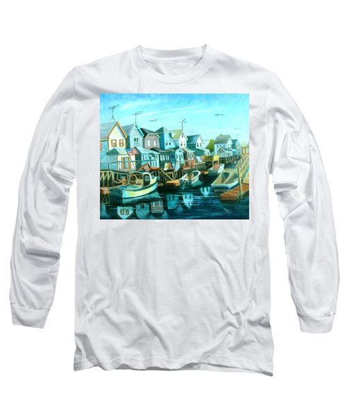 A View Of Ramblesville Long Sleeve T-Shirt