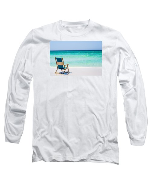 A View Of The Ocean Long Sleeve T-Shirt by Shelby  Young