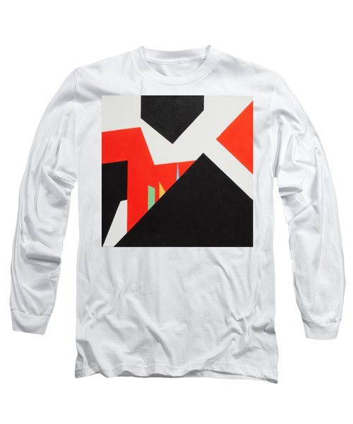 A Walk Through The Village Long Sleeve T-Shirt