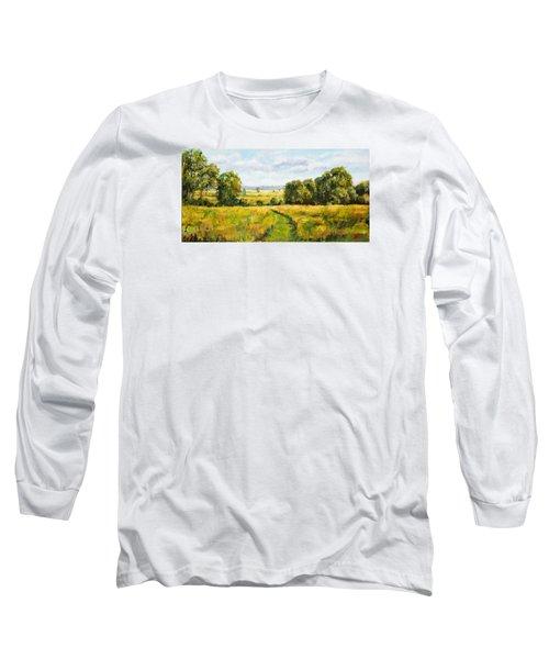 A Walk Thru The Fields Long Sleeve T-Shirt