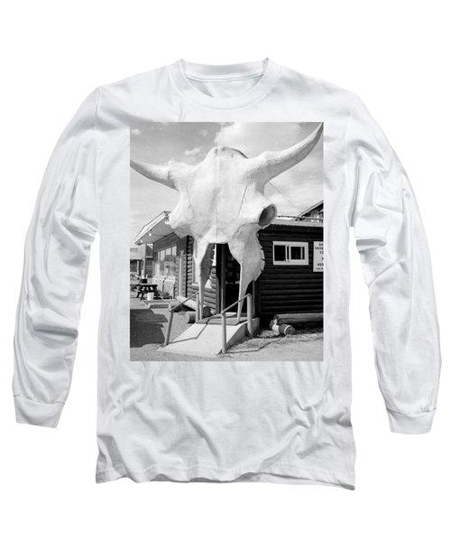 Abandon Hope Long Sleeve T-Shirt by David Gilbert