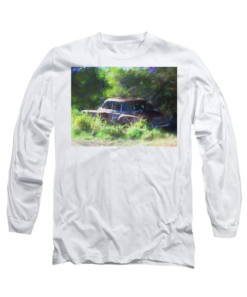 Abandoned 1950 Chevy Dop Long Sleeve T-Shirt