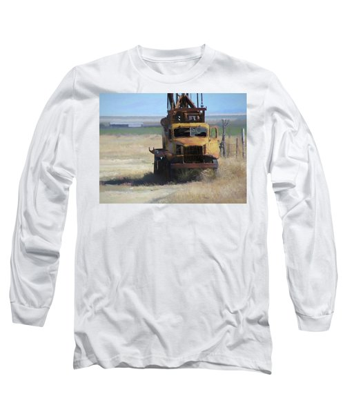Abandoned Gmc Drill Rig Long Sleeve T-Shirt