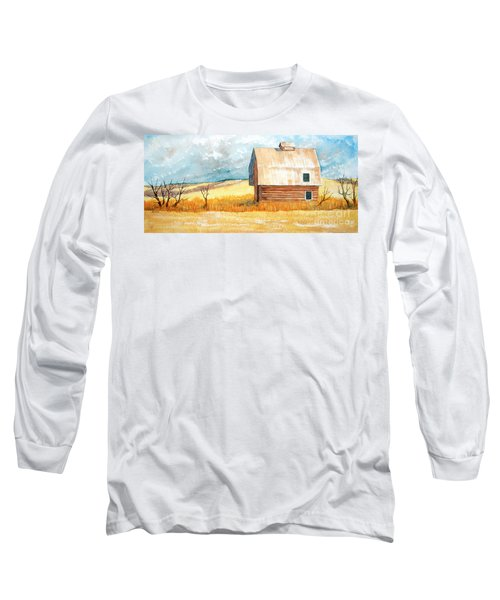Abandoned Long Sleeve T-Shirt by Rebecca Davis