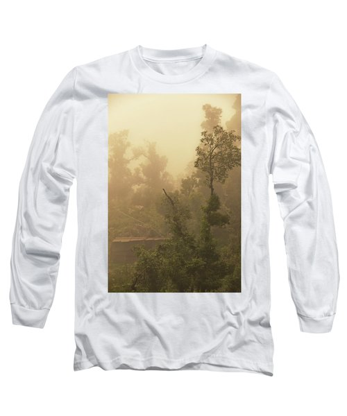 Abandoned Shed Long Sleeve T-Shirt by Rajiv Chopra