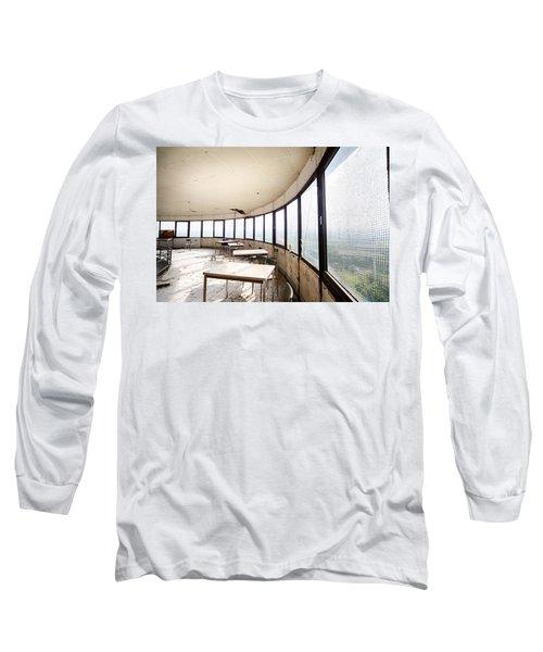 Abandoned Tower Restaurant - Urban Decay Long Sleeve T-Shirt