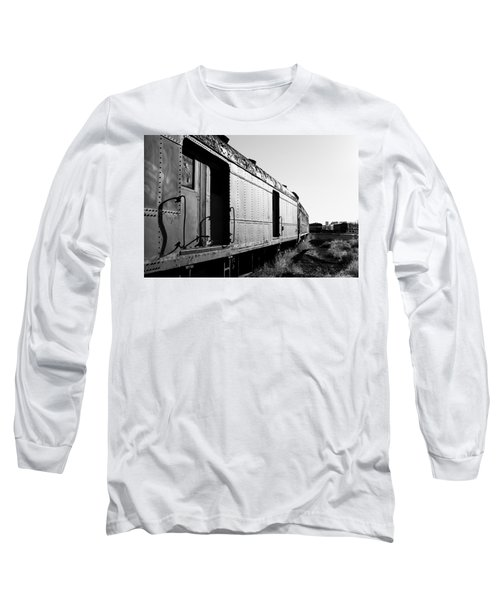 Abandoned Train Cars Long Sleeve T-Shirt