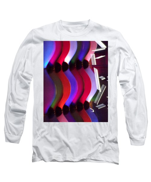 Abstract1 Long Sleeve T-Shirt by John Wartman