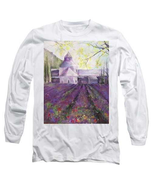 Abbey Senanque    Long Sleeve T-Shirt by Robin Miller-Bookhout
