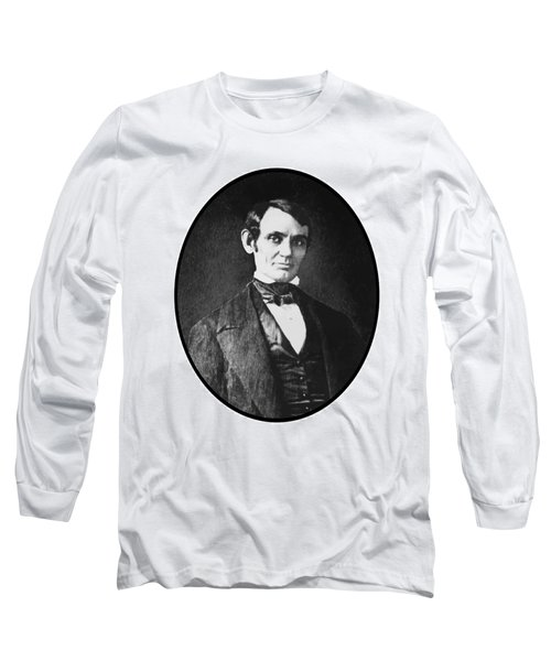 Abe Lincoln As A Young Man  Long Sleeve T-Shirt