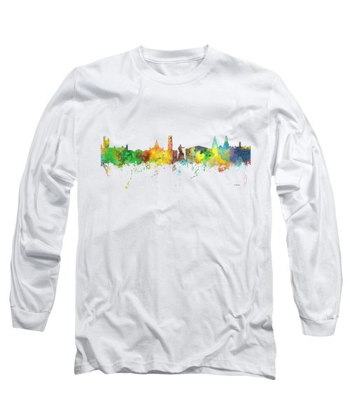 Aberdeen Scotland Skyline Long Sleeve T-Shirt
