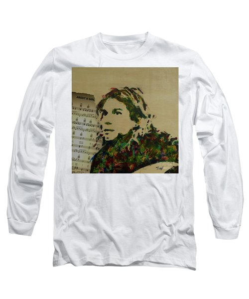 About A Girl Long Sleeve T-Shirt