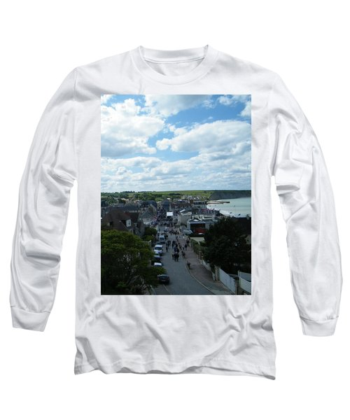 Above Arromanches-les-bains Long Sleeve T-Shirt
