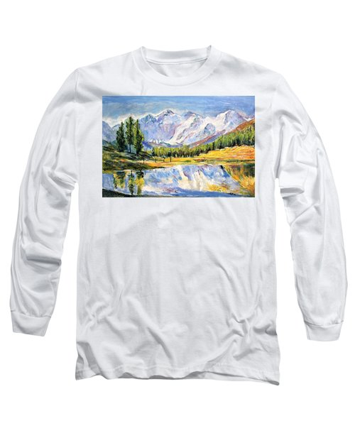 Above The Sea Level Long Sleeve T-Shirt